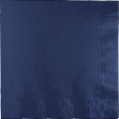 Creative Converting Navy Luncheon Napkin 2Ply, 50 ct