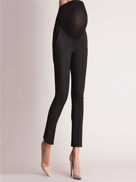 9daed543a5fc0 Product Image Elastic Belly Protection Maternity Pregnant Leggings Pants  Trousers Pencil Pants