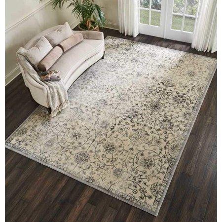 Nourison Kelly Ripa Home Origin Distressed Grey Area Rug By