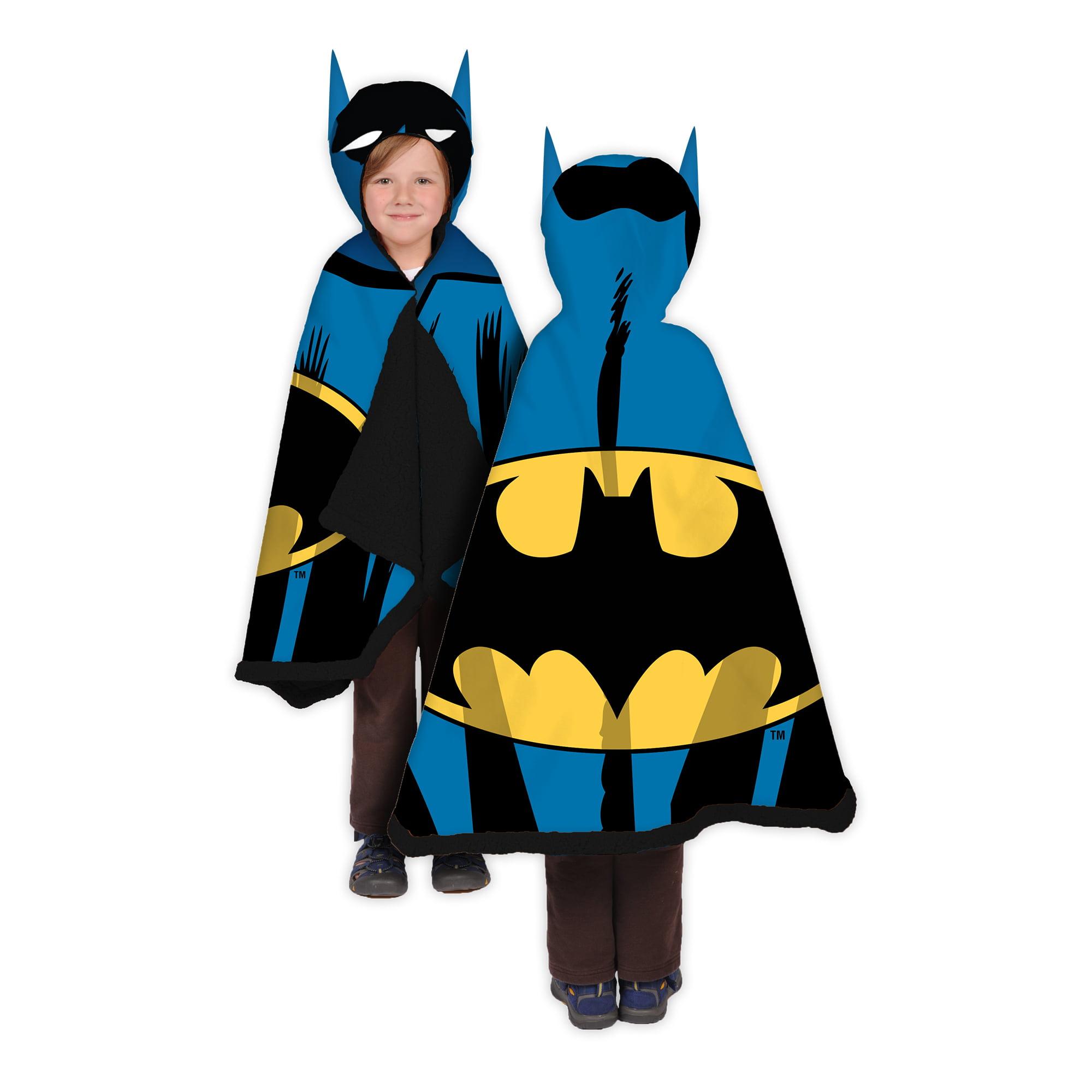 Batman 'Dangerous Knight' Boys Snuggle Wrap with Hood
