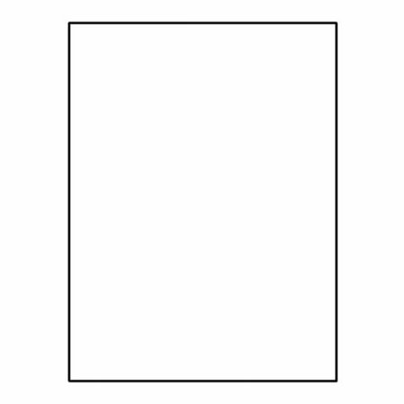 "Letterhead, 8-1/2"" x 11"", 24#, Bright White (96% Brightness), Acid Free, Vellum Imaging Finish (Box of 500)"