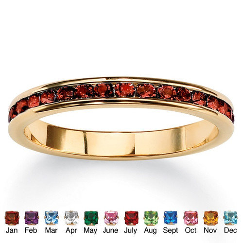 Palm Beach Jewelry Birthstone Eternity Ring
