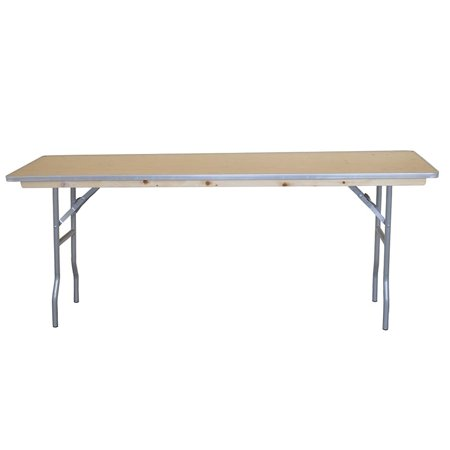 Pogo 8 Foot Conference Seminar Office Rectangle Folding Table ()