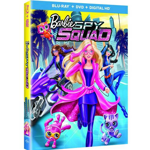 Barbie: Spy Squad (Blu-ray + DVD + Digital HD) (With INSTAWATCH) (Anamorphic Widescreen)