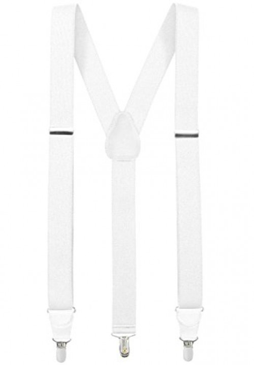 Men/'s Suspenders Terra Earth Toned Blue Green Beige Clip on Elastic Adjustable