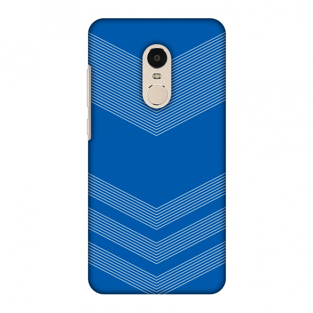 Xiaomi Redmi Note 4 Case, Premium Handcrafted Printed Designer Hard Snap On Case Back Cover for Xiaomi Redmi Note 4 - Carbon Fibre Redux Coral Blue 2