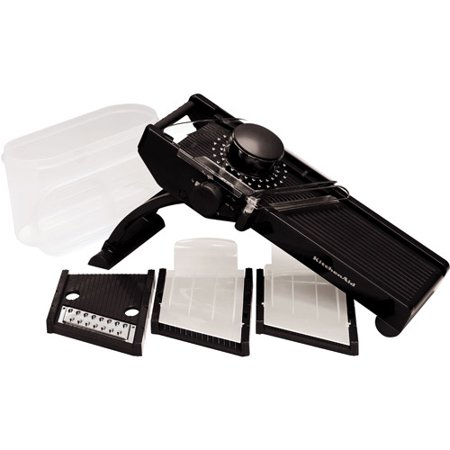 Kitchenaid Mandoline Slicer Set Black