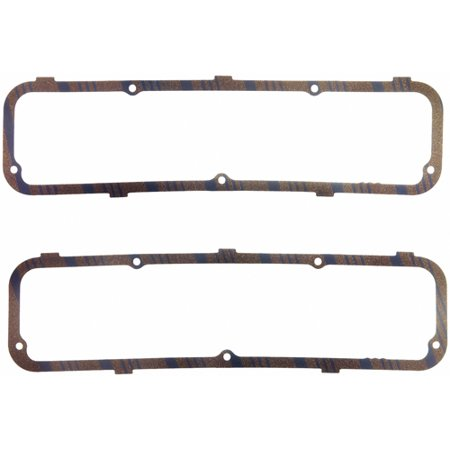 Fel Pro HP 1632 Valve Cover Gasket  Ford 352/ 360/ 390/ 406/ 427/ 428/ 428 CJ/ 428 SCJ; Cork-Rubber; 0.188 Inch Thick - image 1 of 2