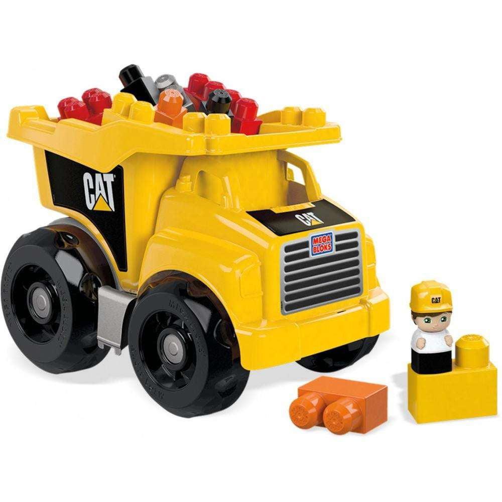 Mega Bloks CAT Large Dump Truck by Mega Brands