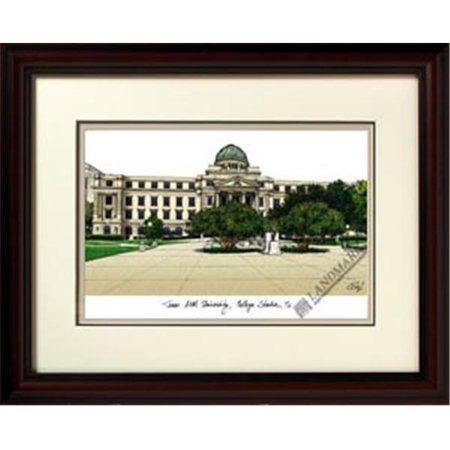 Campus Images TX953R Texas A and M University College Station Alumnus Lithograph Frame (Party City College Station)