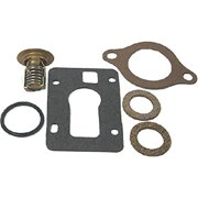 new Marine OMC 160 Degree Thermostat Kit Replace Sierra 18-3653