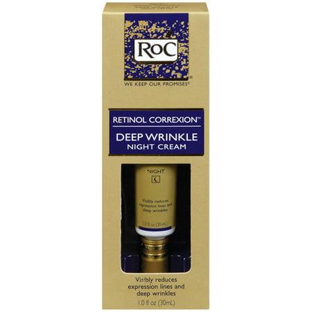 Roc Retinol Correxion Deep Wrinkle Anti Aging Night Face Cream  1 Oz