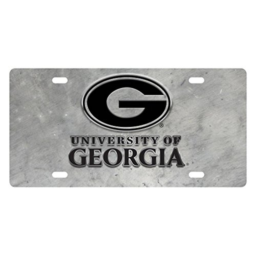 Jay Mac Sports University of Georgia Bulldogs Pewter Plate
