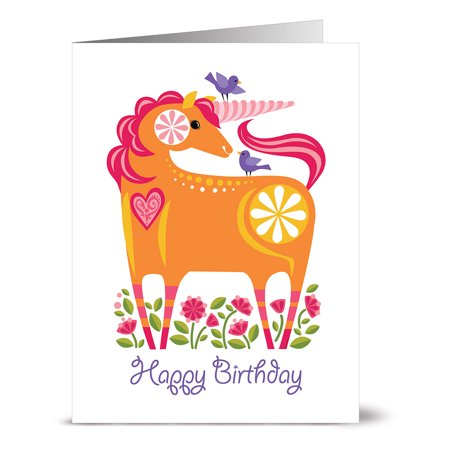 24 Happy Birthday Note Cards