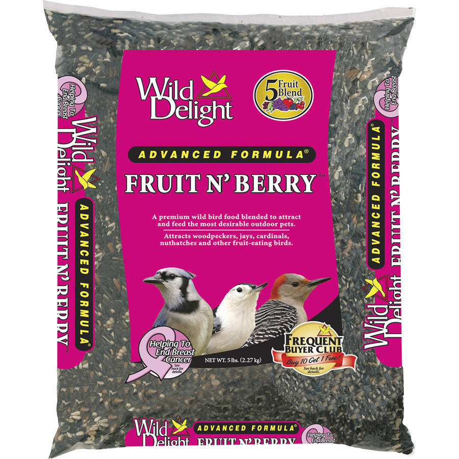 Wild Delight 365050 5 Lb Fruit N' Berry Bird Feed