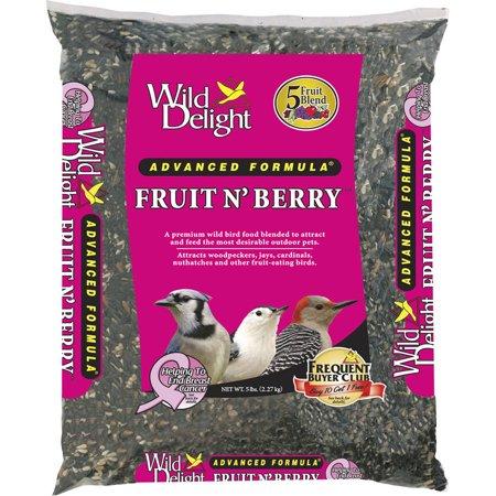 Wild Delight 365050 5 Lb Fruit N' Berry Bird