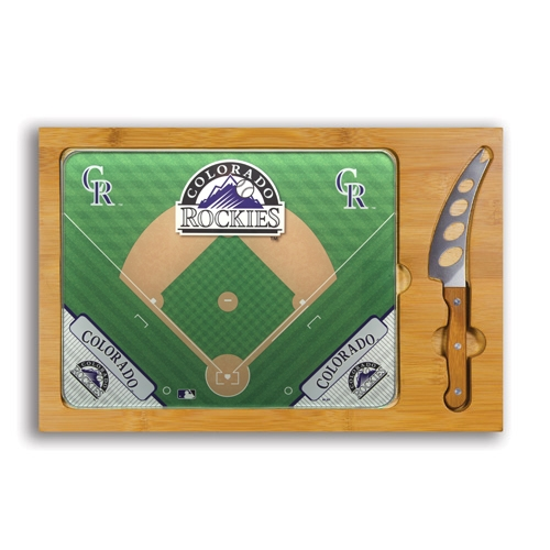 Colorado Rockies Icon Cutting Board Set - No Size