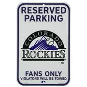 """Colorado Rockies WinCraft 11"""" x 17"""" Indoor/Outdoor Sign"""