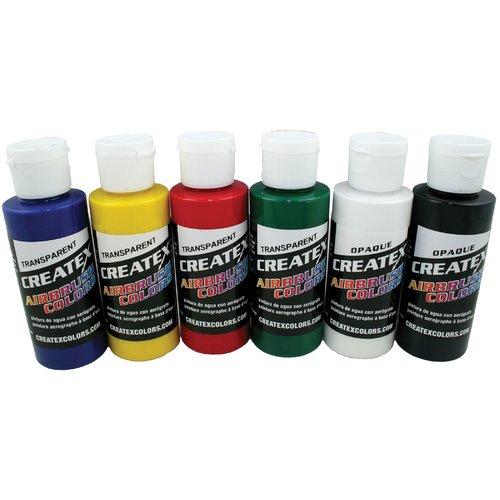 Createx Airbrush Primary Set