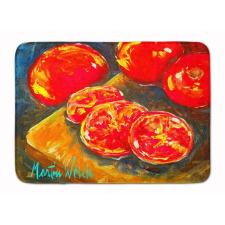 Vegetables - Tomatoes Slice It Up Machine Washable Memory Foam Mat