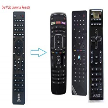 Gvirtue Universal Tv Remote 8 In 1 For Almost All Vizio Led Lcd Smart E Series Tv Smart Internet Apps With Amazon  Netflix   M Go Keys  Sub Xrt112 Xrt100 Vr1 Vr2 Vr10 Vr15 Etc