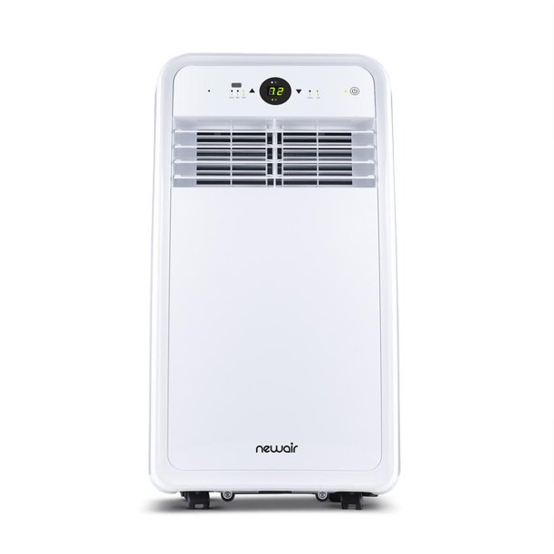 Newair Compact 8 000 Btus 4 500 Btu Doe 120 Voltz Portable Air Conditioner Cools 200 Sq Ft Easy Setup Window Venting Kit And Remote Control Walmart Com Walmart Com