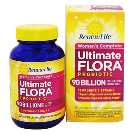 Renew Life - Ultimate Flora Women's Complete Probiotic 90 Billion - 30
