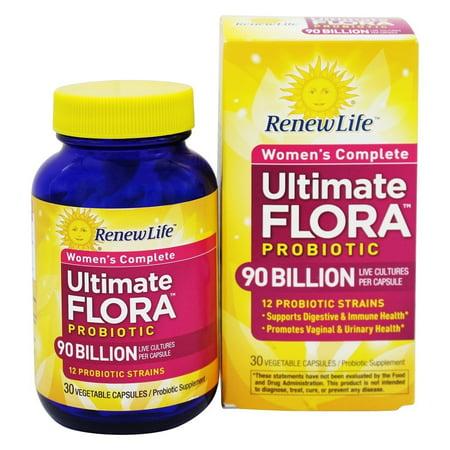 Renew Life Ultimate Flora Women S Complete Probiotic 90