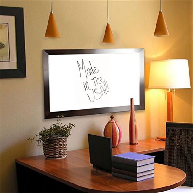 Rayne Mirrors American Made Rayne Silver Petite Whiteboard