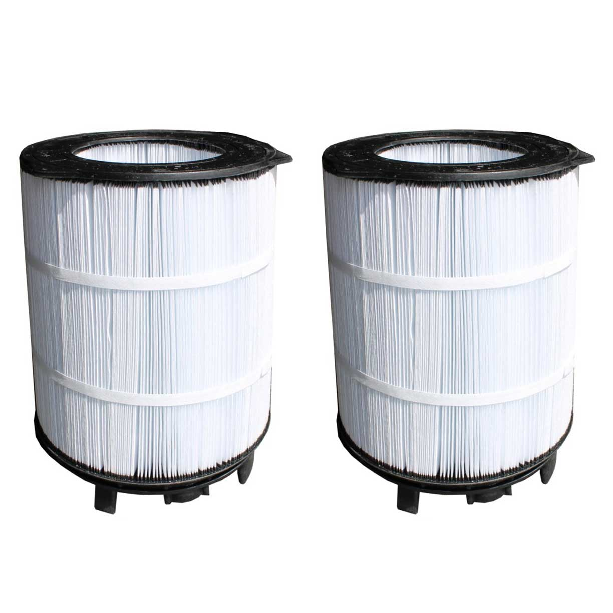 """Sta-Rite System 3 Large Outer Swimming Pool Replacement 25"""" Filter (2 Pack)"""