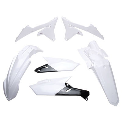 for 03-06 Yamaha WR450F Acerbis Side Panel Set White