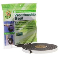 Duck Extra Large Gap .75 In. x .5 In. x 10 Ft. Weatherstrip Seal