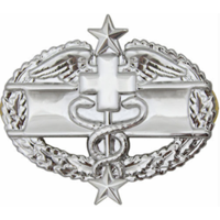 Army Combat Medical 3rd Award Badge (Mirror Finish)