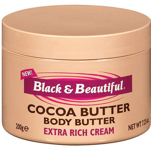 Black & Beautiful Cocoa Body Butter Cream, 7.25 oz