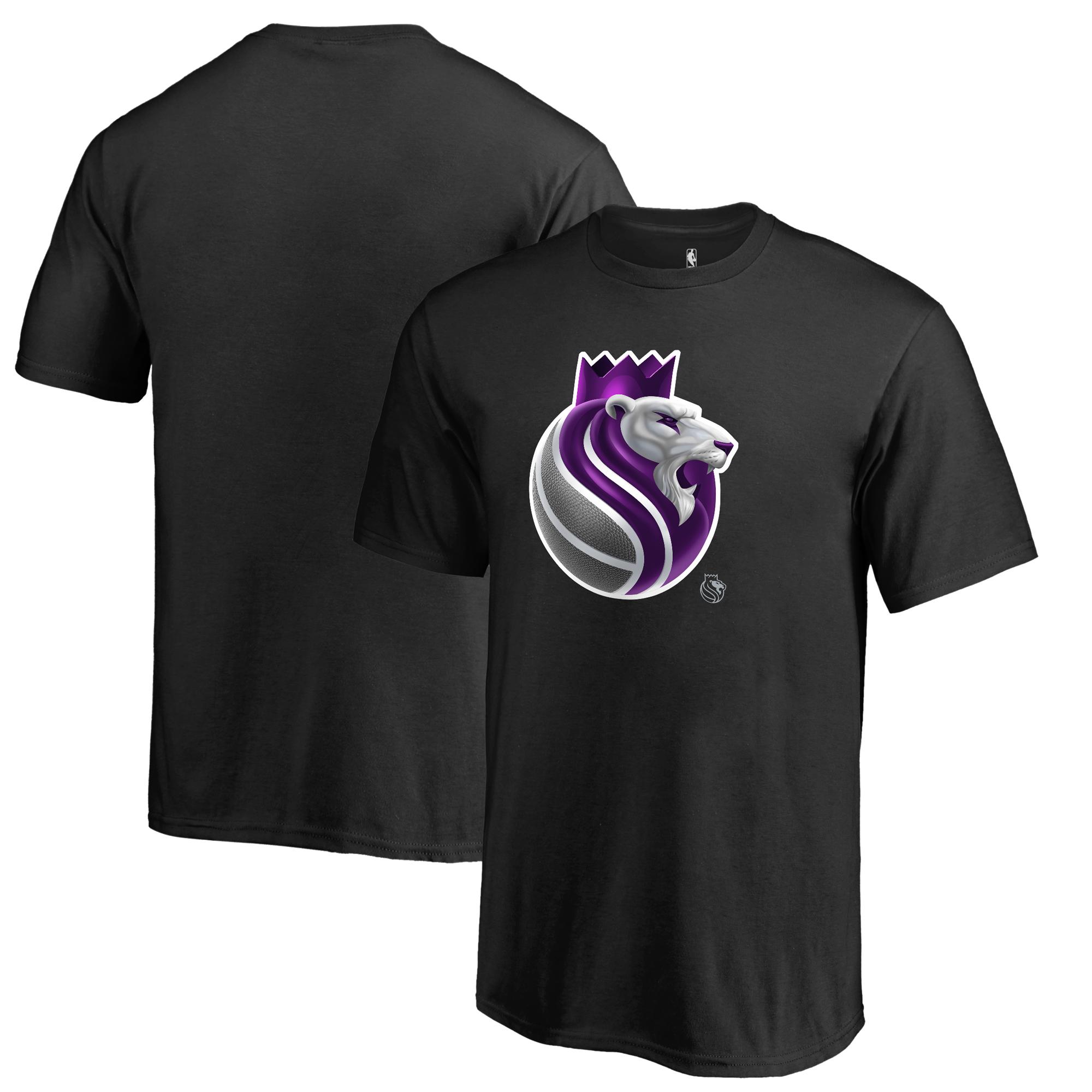 Sacramento Kings Fanatics Branded Youth Midnight Mascot T-Shirt - Black