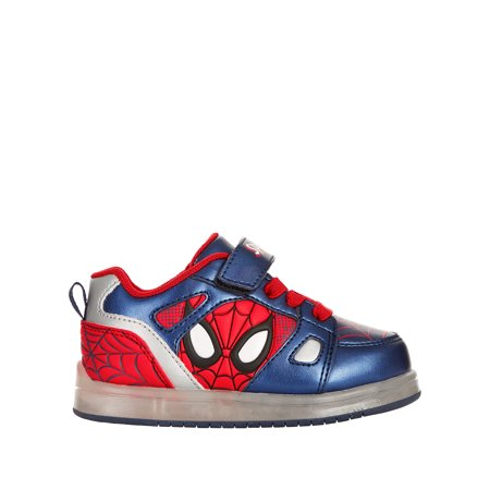 Spider-Man Toddler Boys' Licensed Lighted Athletic Shoe