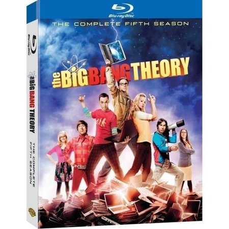 The Big Bang Theory  The Complete Fifth Season  Blu Ray   Widescreen
