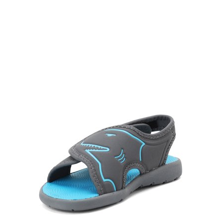 Wonder Nation Toddler Boys' Shark Beach Slingback Sandals