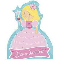 Partypro 895954 Fairytale Princess Invitation