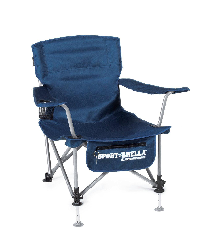 Sport Brella Slopeside Chair, Navy Blue   Walmart.com