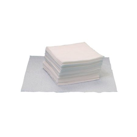 Hospital Specialty GOA5500 12 x 13.25 in. Task Brand Quarter Fold Grease & Oil Cleaning Wipes - White, Pack of 50
