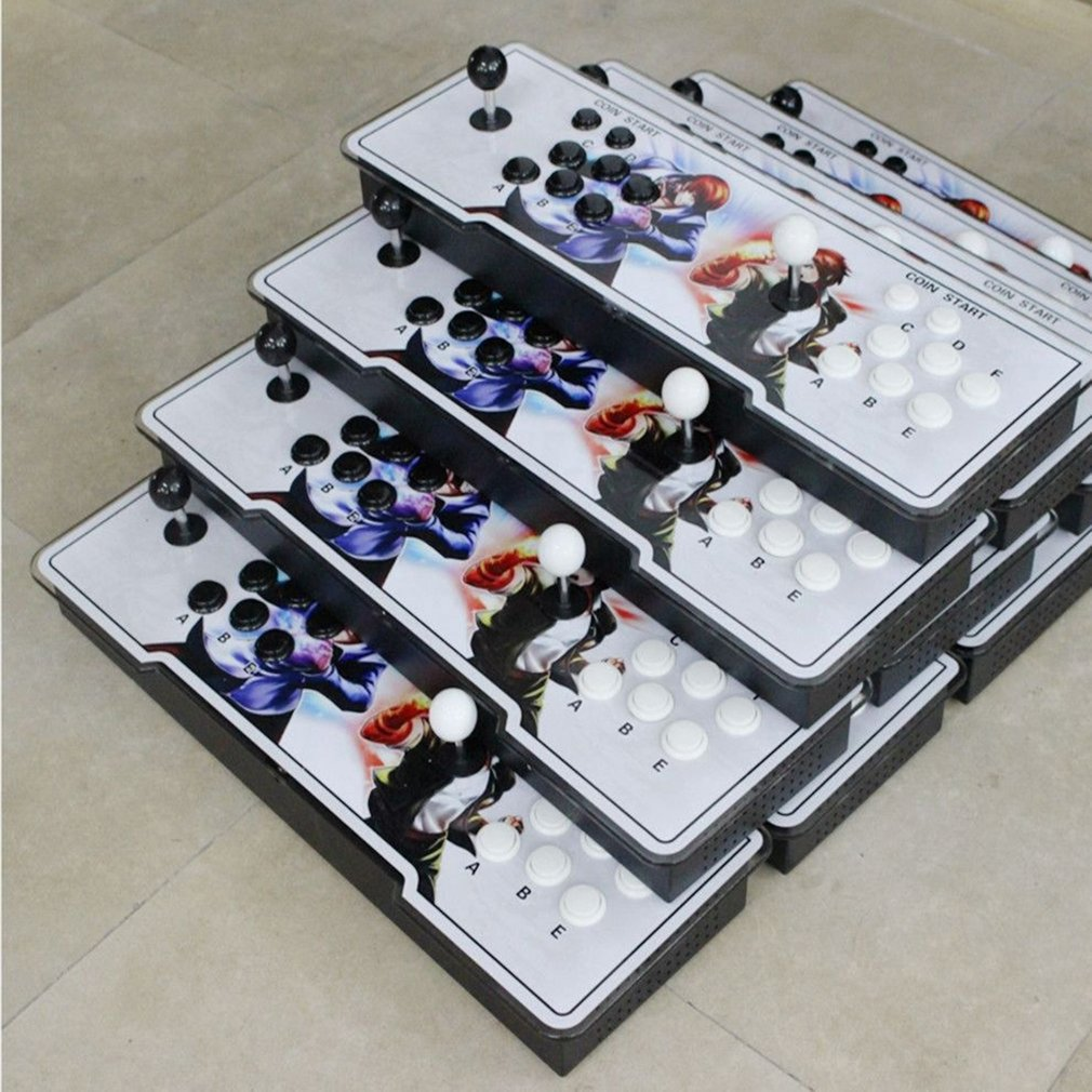 Hot Sale Professional TV Arcade Game Console Kit with Double Joystick Buttons for TV PC, Multicolor