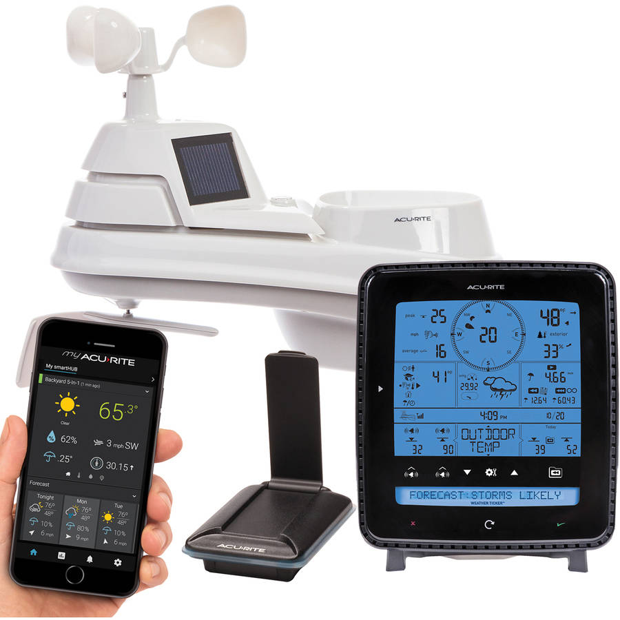 AcuRite 5-in-1 Pro Weather Station with My AcuRite Remote Monitoring by