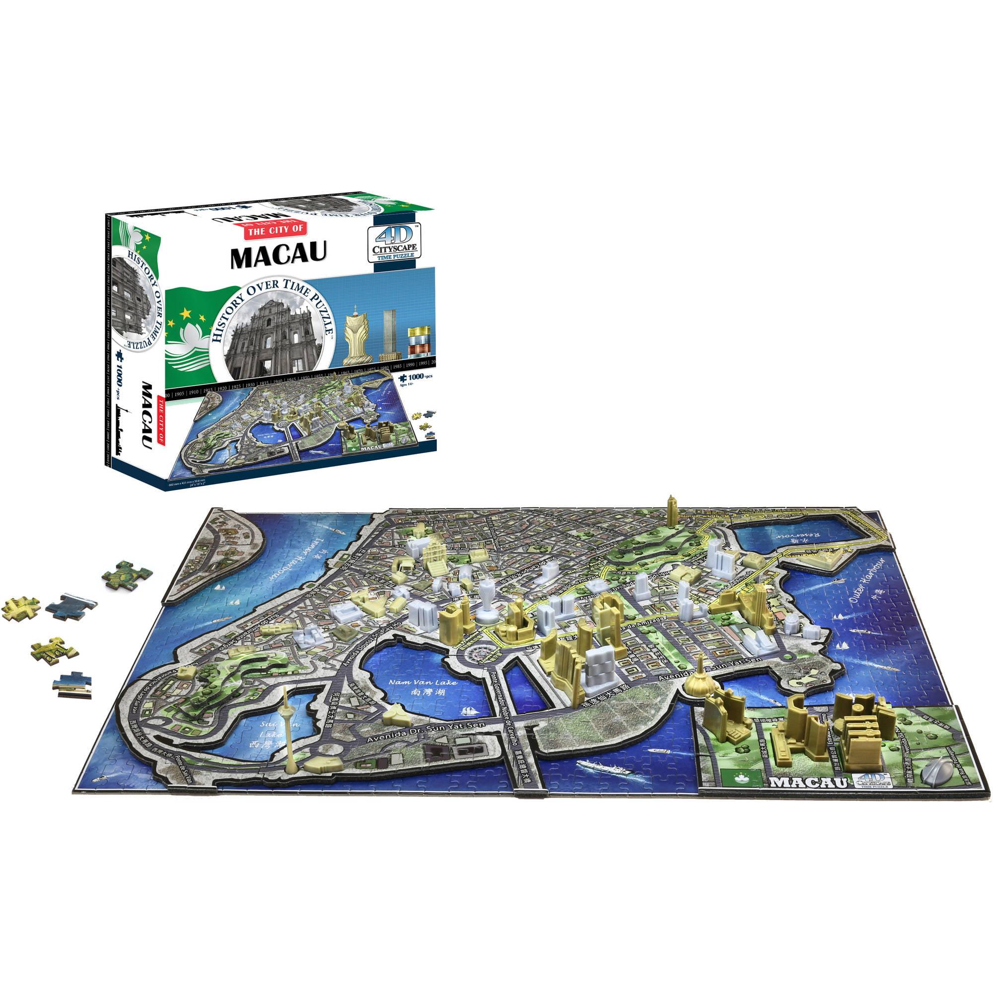 4D Macau, China Jigsaw Puzzle