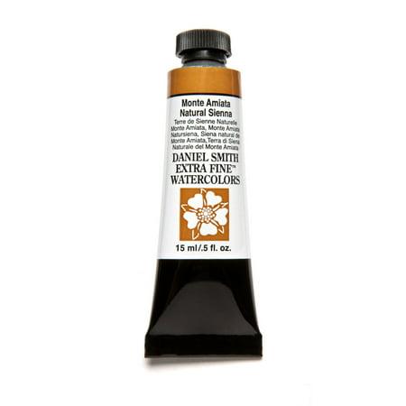 - Daniel Smith Extra Fine Watercolor, 15 ml, Monte Amiata Natural Sienna
