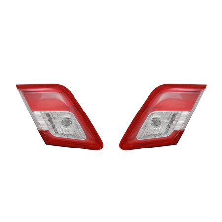 NEW INNER TAIL LIGHT PAIR FITS TOYOTA CAMRY 2010 2011 USA 81580-06230 8159006230 8158006230 TO2803104