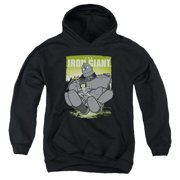The Iron Giant Helping Hand Big Boys Pullover Hoodie