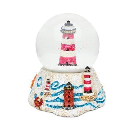 Halloween Vhs Snow Globe (Stone Snow Globe - Lighthouse)