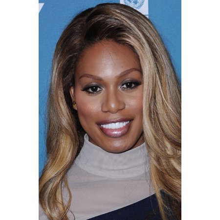 Laverne Cox At Arrivals For The Social Good Summit 2015 Canvas Art     16 X 20