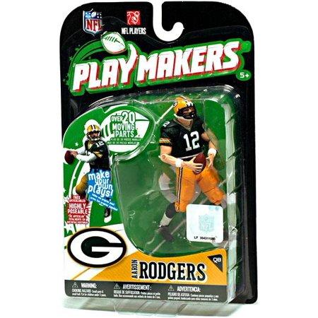 McFarlane NFL Playmakers Series 1 Aaron Rodgers Action Figure ()